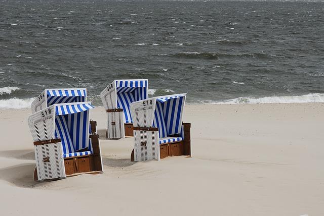 Nordsee Strandkörbe